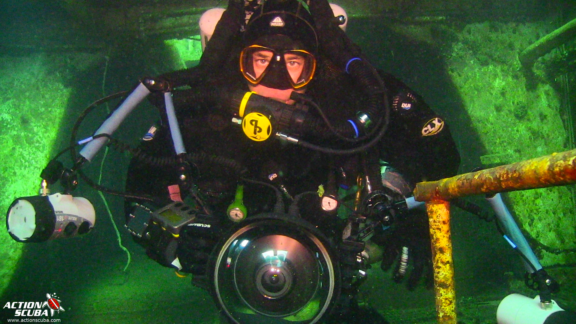 Rebreather diving Montreal with Action Scuba PADI Tec Rec